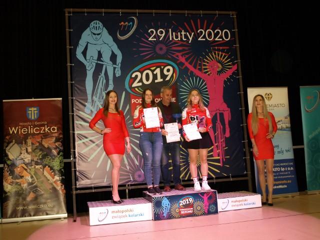 W Wieliczce nagrodzono najlepszych kolarzy z Małopolski
