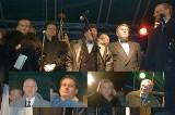 """Scorupco, Olbrychski, Żebrowski i inne gwiazdy. Premiera """"Ogniem i mieczem"""" - Białystok, 15.02.1999"""