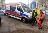 Karetka i dwa samochody osobowe zderzyły się przy placu Orląt Lwowskich we Wrocławiu [ZDJĘCIA]