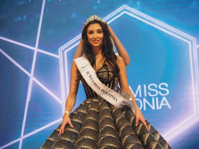 Faustyna Wespińska z Bydgoszczy zdobyła tytuł II Wicemiss Polonia 2020 podczas konkursu, który odbył się 8 marca 2020 r. w Teatrze Wielkim w Łodzi.