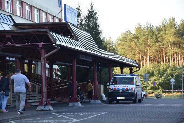 """Szpital w Grudziądzu jest przygotowanych na przyjęcie 485 pacjentów """"covidowych"""" z całego województwa. Obecnie jest zajętych łóżek 278."""