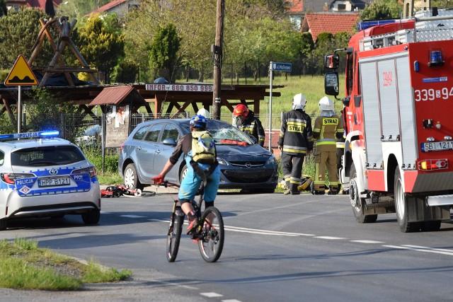 Do potrącenia dwóch rowerzystek doszło 1 czerwca w Wilkowicach.Zobacz kolejne zdjęcia. Przesuwaj zdjęcia w prawo - naciśnij strzałkę lub przycisk NASTĘPNE