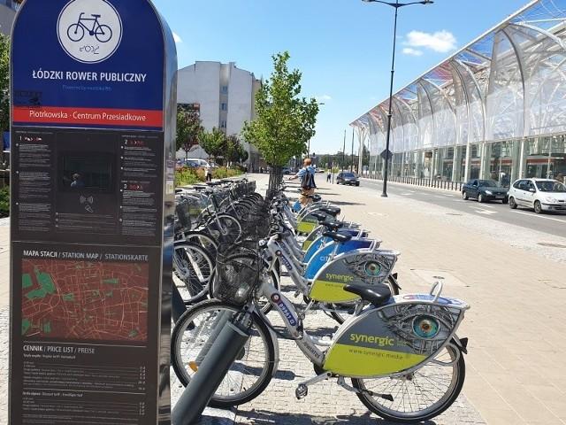 Przez ostatnie 4 lata rowery publiczne wypożyczono w Łodzi ponad 6 mln razy.