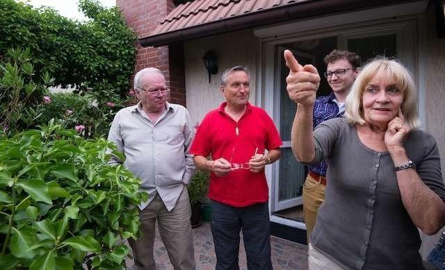 Anita Matusiak, Artur Jankowski i Piotr Czernis  mieszkają w domach przy ul. Grabowskiego i bloków w sąsiedztwie zdecydowanie nie chcą