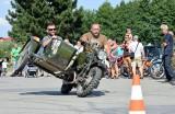 """Grębów. Zjazd starych motocykli. """"Najpiękniejsze w nich jest ryzyko"""" [ZDJĘCIA]"""