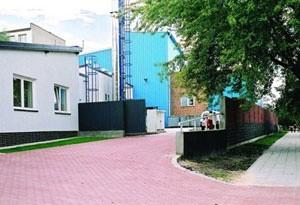 Zakład Energetyki Cieplnej w Łapach przy ulicy Polnej