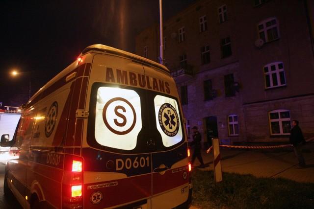 Wypadek na Brochowie. Kobieta zmarła w karetce, w drodze do szpitala. Zdjęcie ilustracyjne