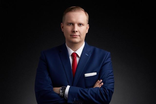 Krystian Kamiński, poseł z województwa lubuskiego.