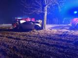Śmiertelny wypadek w Borczu w gminie Somonino 3.01.2021. Nie żyje 26-letni mężczyzna