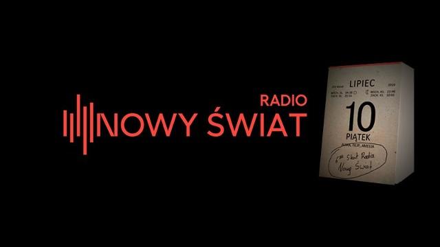 Radio Nowy Świat rusza 10 lipca o godz. 6.00 rano