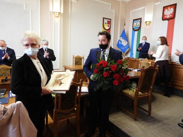 Radni Maria Borzeszkowska i Wojciech Kociński po złożeniu rezygnacji
