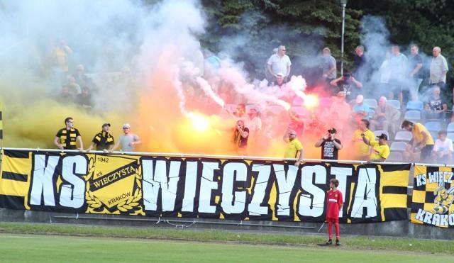 Kibice na meczach Wieczystej Kraków