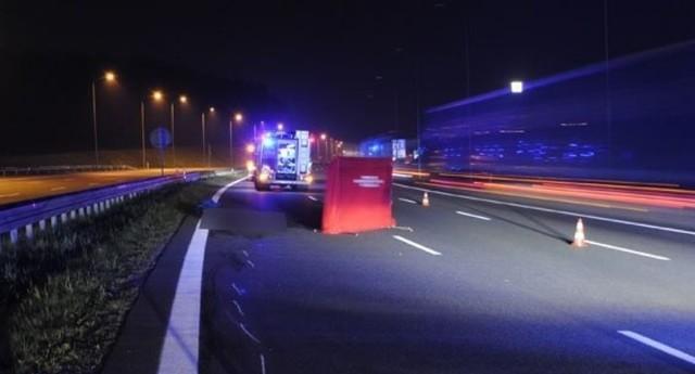 Wypadek na autostradzie 4 w Rudzie Śląskiej: Przy mężczyźnie, który zginął na miejscu, znaleziono dokumenty z Mołdawii