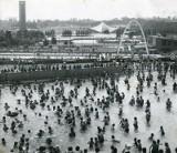 Kąpielisko Fala na starych zdjęciach. Tu latem bawiły się pokolenia Ślązaków! Pamiętacie dawną Falę?