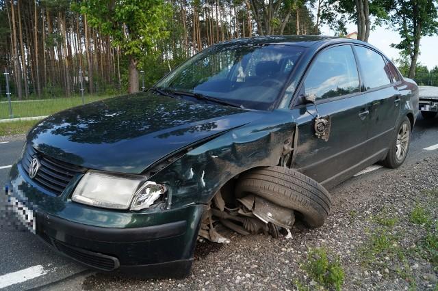 Ostrołęka: Wypadek na DK53 przy ul. Stacha Konwy