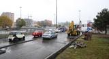 Budowa trasy W-Z: ZDiT wystraszył się deszczu