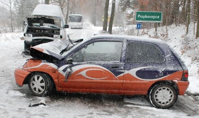 W Przyborzycach doszło do wypadku