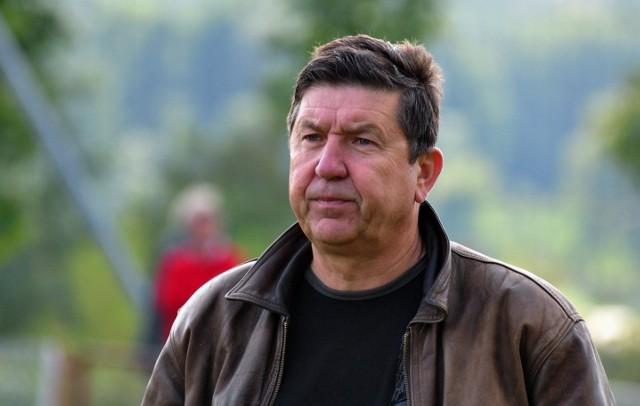 Trener Marek Holocher