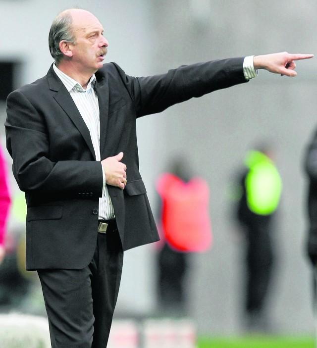 Trener Levy pokazuje, gdzie ma iść Śląsk, tylko czy tam dojdzie?
