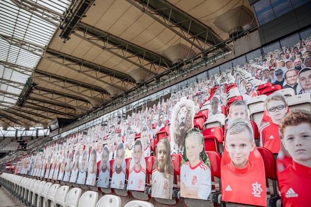 """Tak wygląda """"tekturowa armia"""" przed meczem z Górnikiem"""
