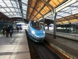 Pociągi Pendolino do Warszawy pojadą dłużej