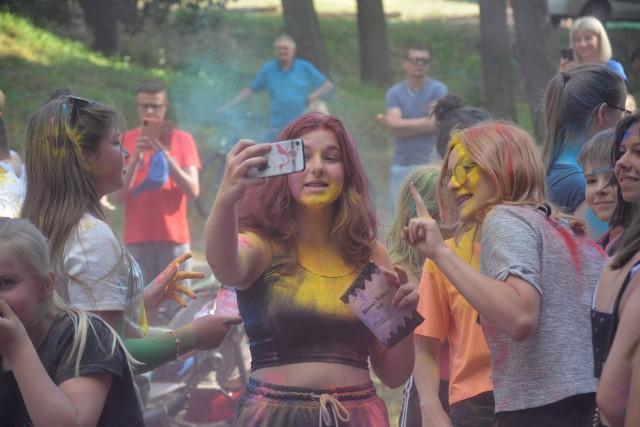 Tak wyglądały w Sępólnie Dzień Baniek Mydlanych i Święto Kolorów