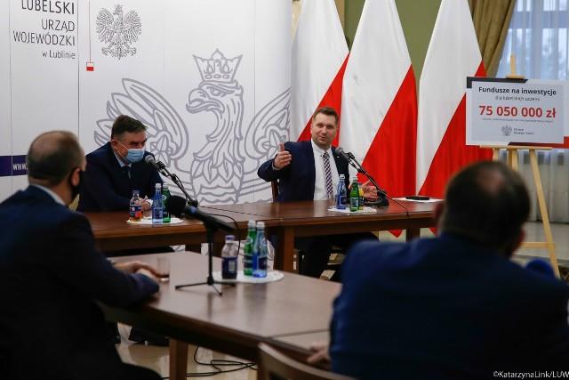 Poniedziałkowe spotkanie rektorów lubelskich uczelni z wojewodą lubelskim oraz ministrem edukacji i nauki