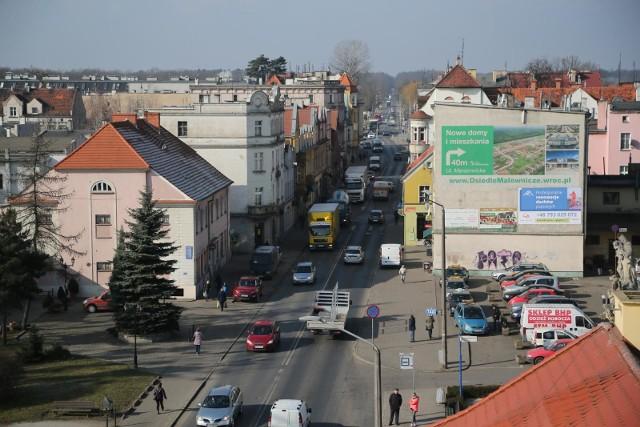 Ulica Średzka w Leśnicy