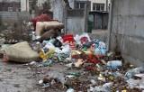 Ogromna sterta śmieci straszy przy Młynarskiej