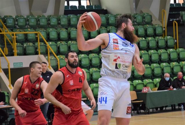 KSK Noteć Inowrocław przegrała drugi mecz z BS Polonia Bytom w II lidze koszykówki i zakończyła sezon 2020/2021