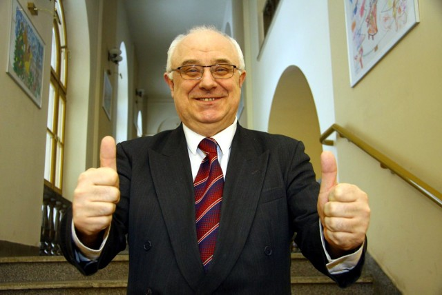Zbigniew Jurkowski - dumny zwycięzca