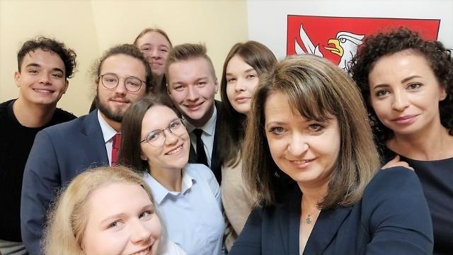 Ostrołęka. Siedlecko-ostrołęcka reprezentacja w Młodzieżowym Sejmiku Województwa Mazowieckiego