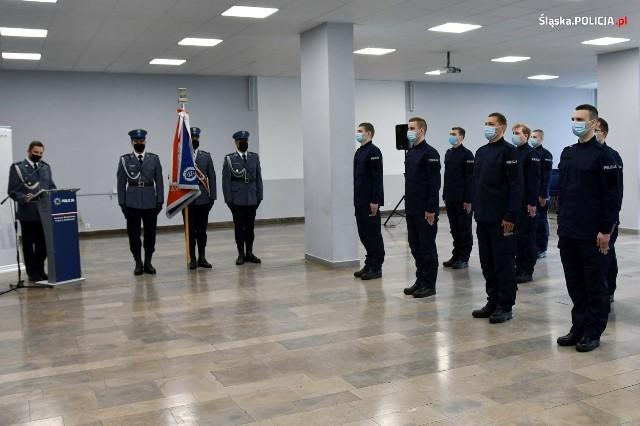 Ślubowanie policjantów w Katowicach. Zobacz zdjęcia >>>