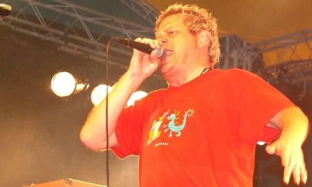 Lider zespołu Kult - Kazik Staszewski