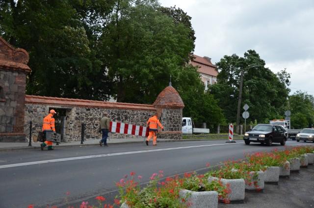 Koniec ruchu wahadłowego na DK 46 w Niemodlinie.