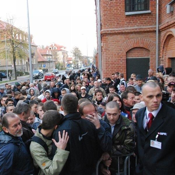 Już pierwszego dnia działalności Galerię Alfa odwiedziło ok 47 tysięcy osób