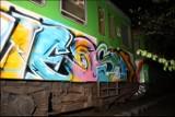 Graffiti  nie spodobało się kolejarzom el