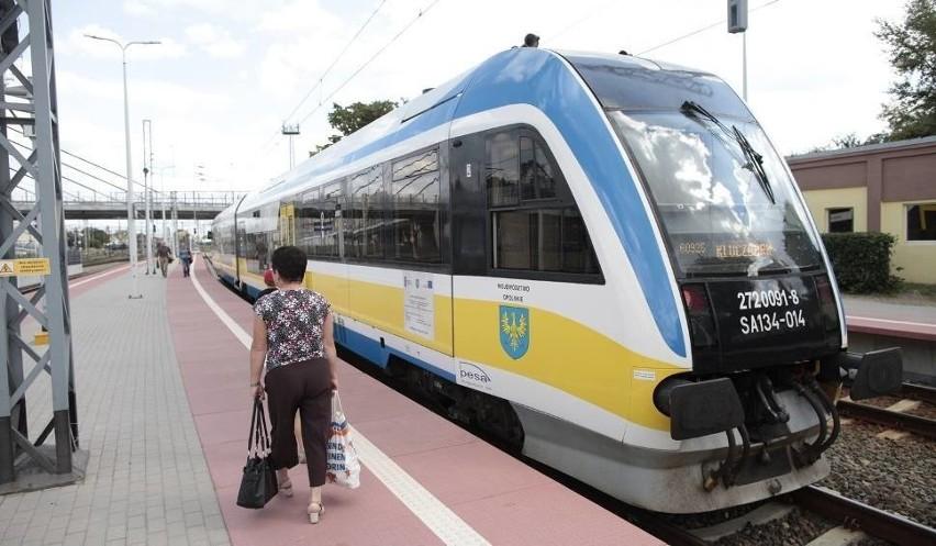 Pociągi wracają na trasę Opole - Kluczbork.