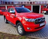 Nowy Ford Ranger na wyposażeniu straży pożarnej w Ostrowcu. Auto robi wrażenie (ZDJĘCIA)