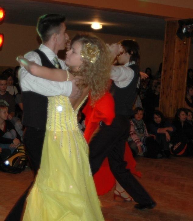 Turniej tanca o puchar dyrektora Zespolu Szkól 2009