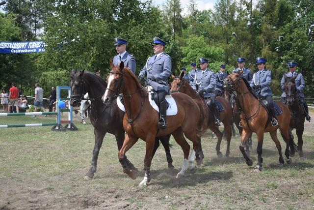 Międzynarodowy Turniej Policji Konnej w Częstochowie