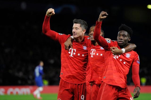 Robert Lewandowski zdobył na razie 11 bramek dla Bayernu w tej edycji Ligi Mistrzów