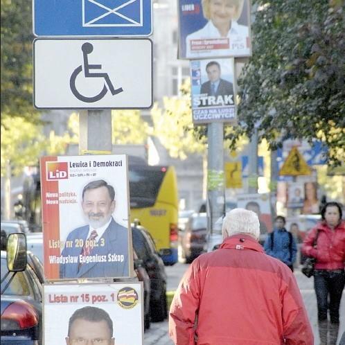 Pierwsze Kary Za Nielegalne Plakaty Wyborcze Głos Pomorza
