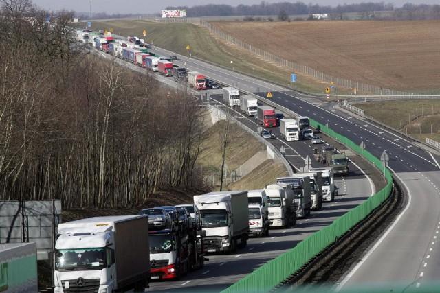 Autostrada A4 zdjęcie ilustracyjne.