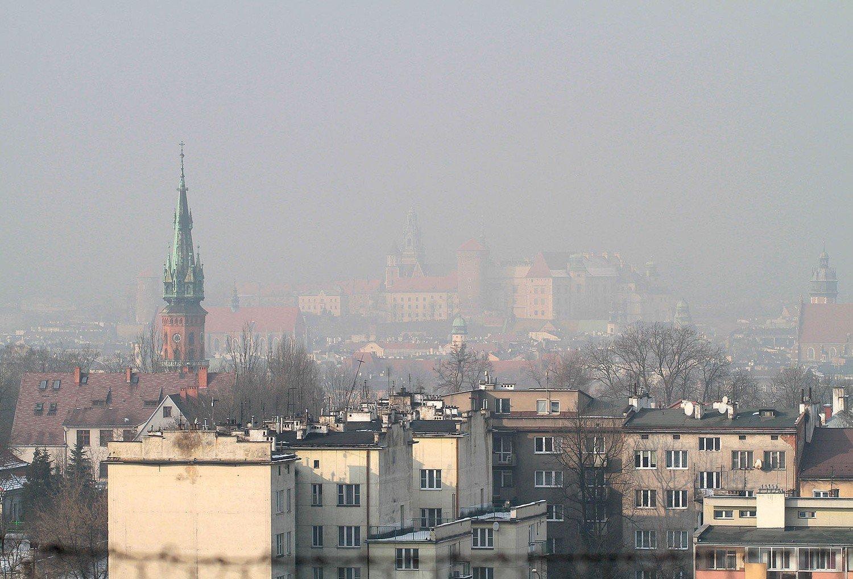 Mapa Krakowa Z Obszarami Przewietrzania Miasta Centrum Dusi Sie W