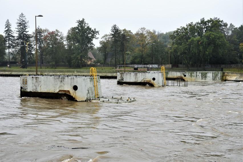Wysoki poziom Odry w Opolu. Wojewoda wprowadził alarm przeciwpowodziowy dla miasta i szeregu powiatów w regionie