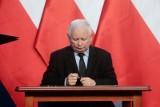 """Kaczyński straszy protestujących. Mówi o """"końcu narodu polskiego"""""""