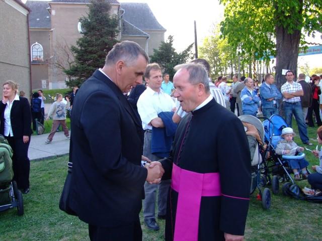 50-lecie świecen kaplanskich ks. pralata Wernera Szyguli. Zobacz zdjecie z uroczystości w UjeLdzie.