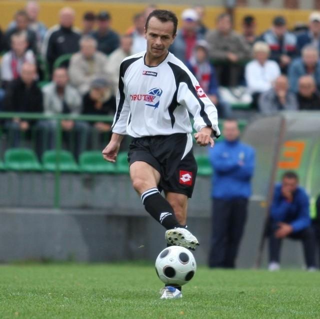 Dariusz Kasperowicz jest jednym z najpilniej pracujących graczy.