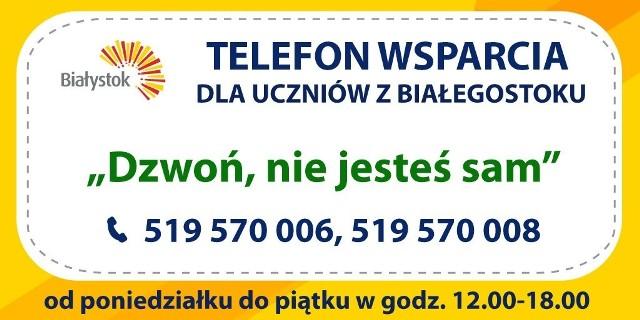 """Inicjatywa :Dzwoń, nie jesteś sam"""" została przeprowadzona jako pilotaż od 24 maja do 25 czerwca 2021 roku"""